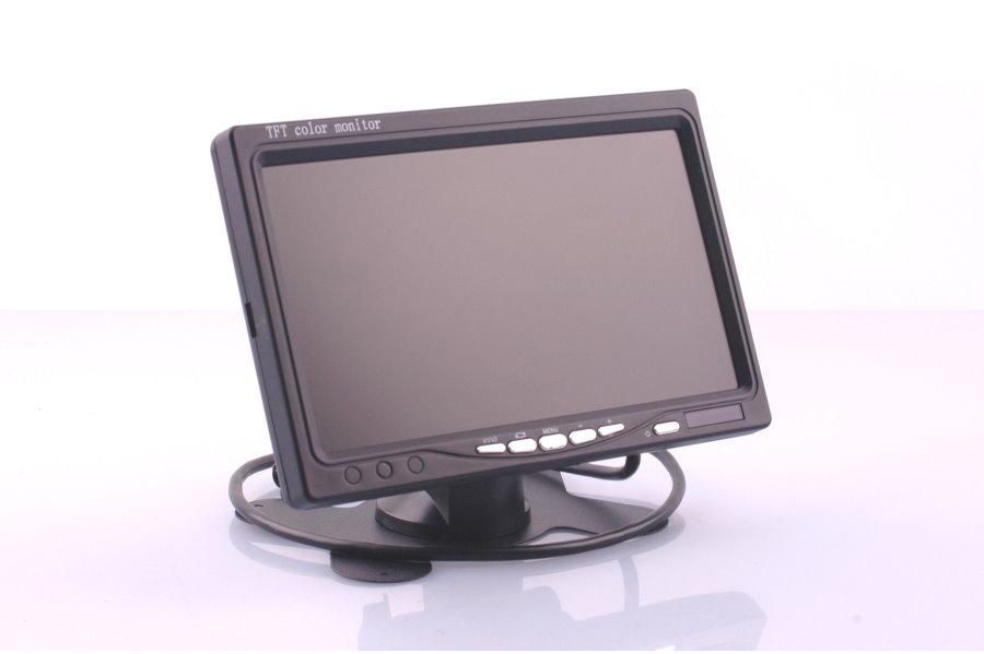 farb r ckfahrkamera kennzeichenhalter tft monitor 7 zoll. Black Bedroom Furniture Sets. Home Design Ideas