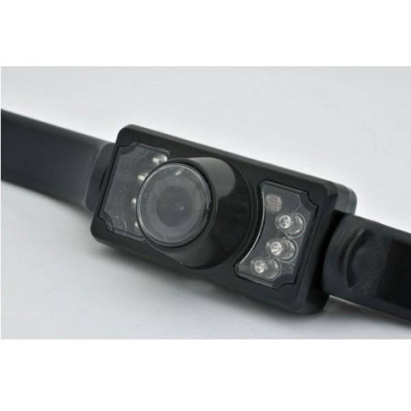 Aufbau Rückfahrkamera 170 ° Blickwinkel Nachtsicht IR LED