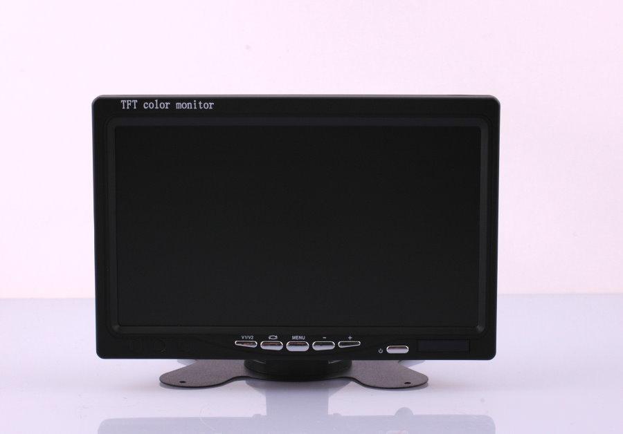 kfz monitor 7 zoll tft bildschirm f r r ckfahrkamera oder. Black Bedroom Furniture Sets. Home Design Ideas