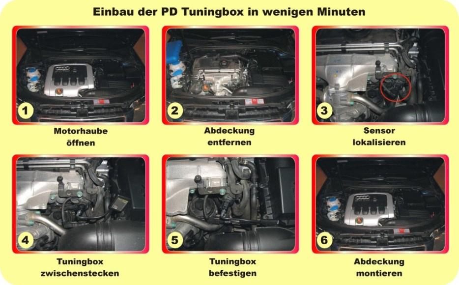 Powerbox Performance Chip passend für VW Multivan T5 2.5  TDI 131 PS Serie Sport-Chip