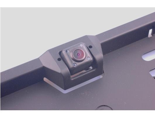 micro r ckfahrkamera mit weitwinkel mit kennzeichenhalter. Black Bedroom Furniture Sets. Home Design Ideas